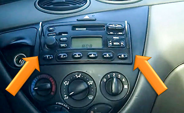 Ford Focus Radio entriegeln