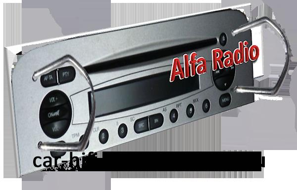 alfaradioentriegelt