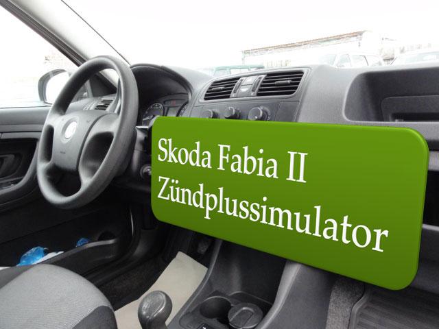 Autoradio Zündplus für Skoda Fabia II Einbauanleitung