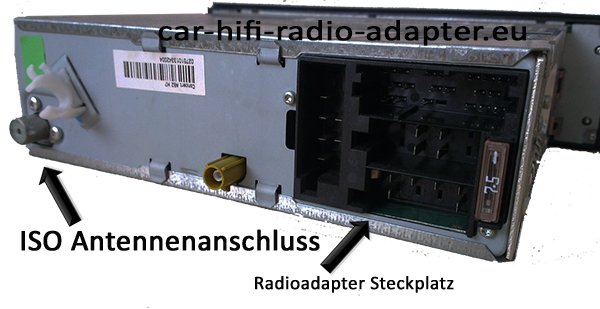 ISOAntennenamschlussradio