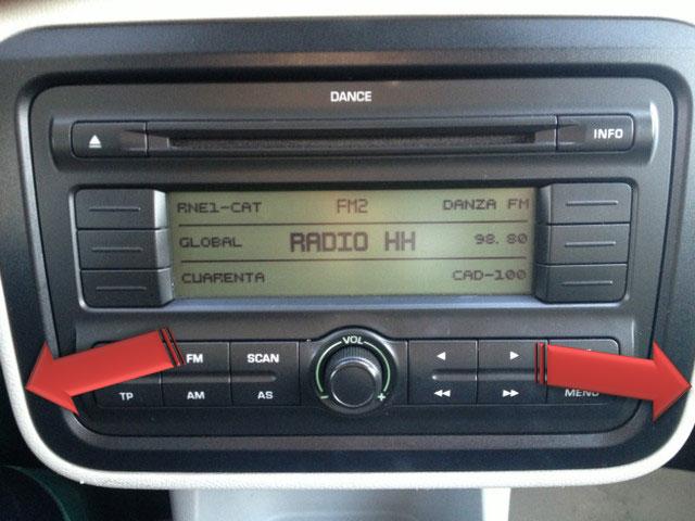 manual skoda dance radio