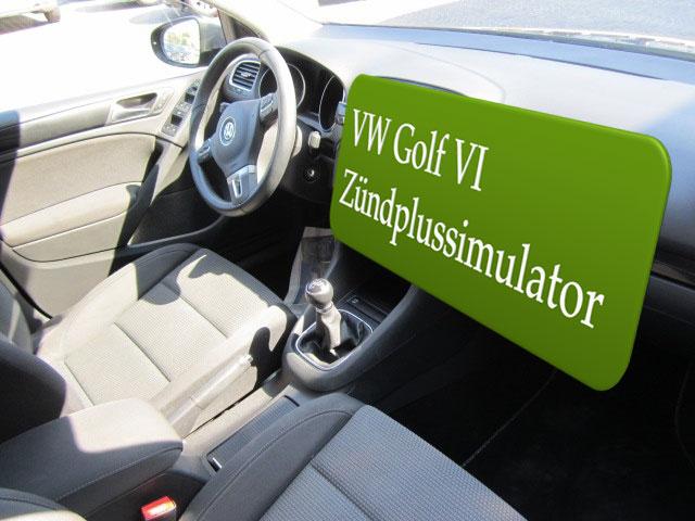Autoradio Zündplus für VW Golf VI Einbauanleitung