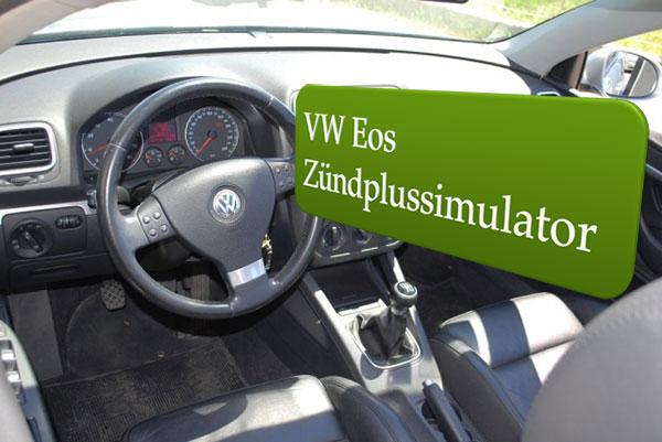 Autoradio Zündplus VW Eos Einbauanleitung