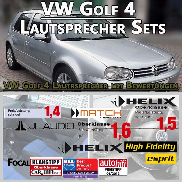 VW-Golf-4-Lautsprecher-Sets