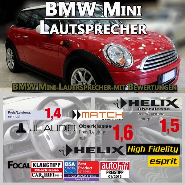 BMW-Mini-Lautsprecher-Sets