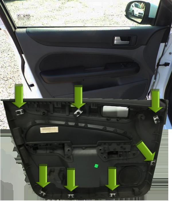 Ford-C-Max-Türe-entfernen