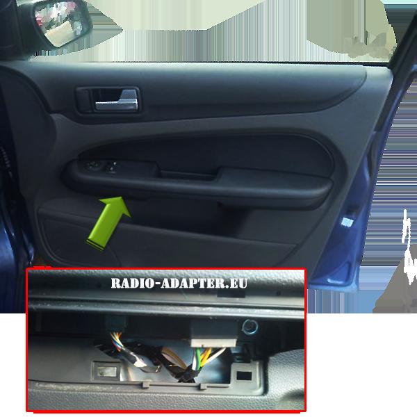 Ford-Focus-E-Fensterheber-Kabel