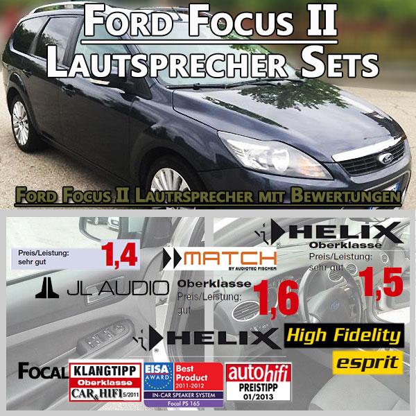 Ford-Focus-II-Lautsprecher-Sets