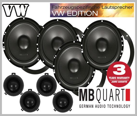 VW-Passat-3BG-Lautsprecher-für-beide-vorderen-und-hinteren-Türen