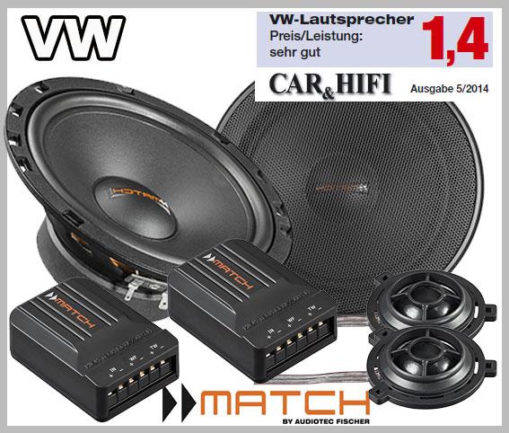 VW-Passat-B5-Typ-3BG-Lautsprecher-vordere-Türen