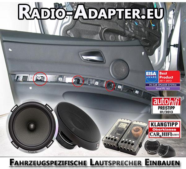 Fahrzeugspezifische Lautsprecher Einbauen-