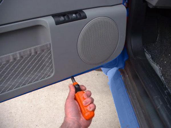 Original VW New Beetle Links vorne Fahrerseite Sitz Entriegelungshebel Mit Clip.
