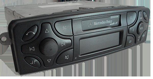 mercedes-radio