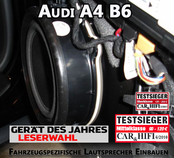 Audi A4 B6 Lautsprecher Einbauen