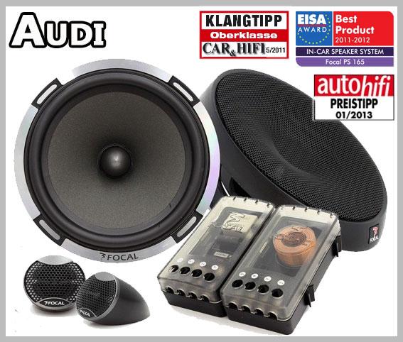 Audi A4 B6 Lautsprecher Set Testsieger vordere Einbauplätze