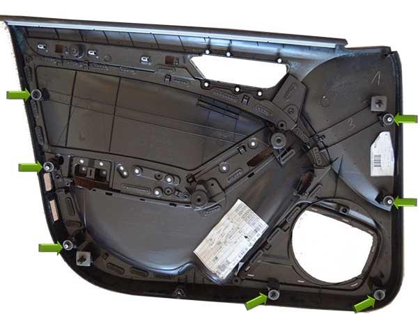 Audi-A4-B6-vorne-innen