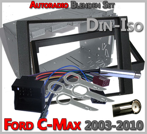 autoradio einbau tipps infos hilfe zur autoradio installation ford c max doppel din. Black Bedroom Furniture Sets. Home Design Ideas
