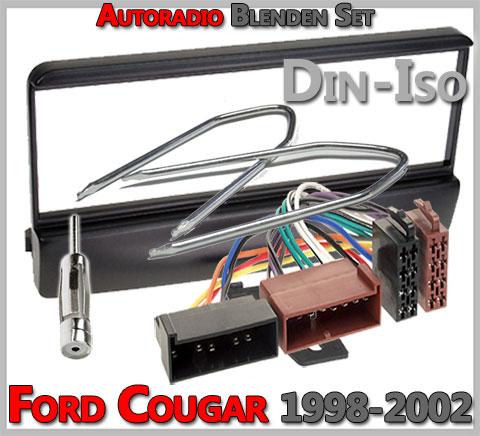 autoradio einbau tipps infos hilfe zur autoradio installation ford cougar radioblenden set. Black Bedroom Furniture Sets. Home Design Ideas
