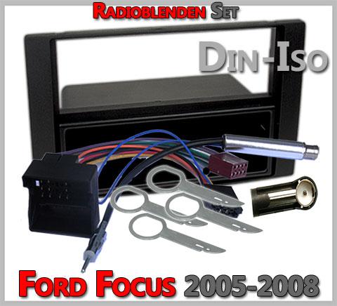 Ford-Focus-Radioblenden-Set-2005-2008