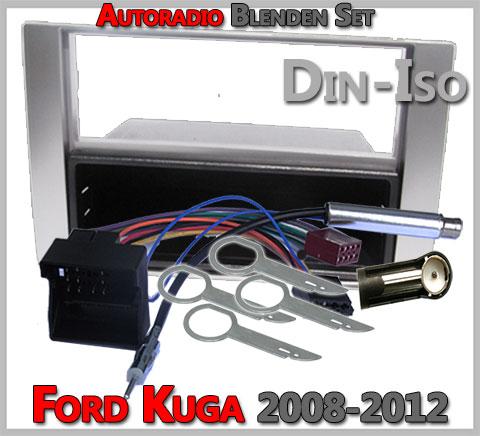 Ford Kuga Radioeinbauset 2008-2012 Silber