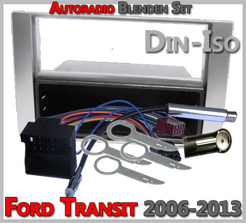 Ford Transit Radioeinbauset 2006-2013 Silber
