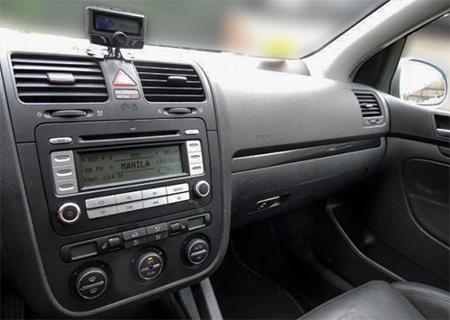 VW Golf RCD 300 Radio