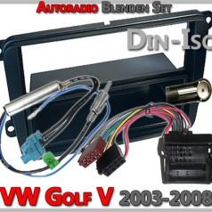 VW Golf V Radioblenden Set 2003-2008