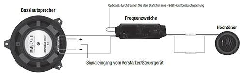 BMW 3er E46 Lautsprecher Türe vorne Coupé Plan
