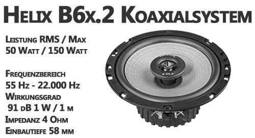 Helix B6x details