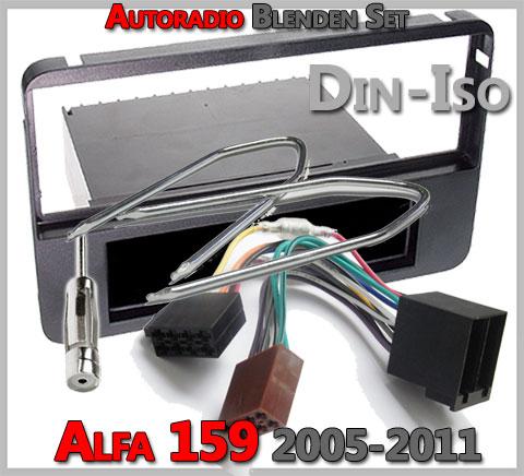 Alfa Romeo 159 Radioeinbauset 2005-2011