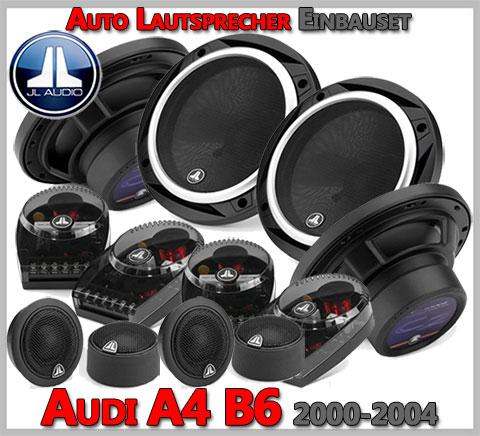 Audi A4 B6 Lautsprecher Komplettes Einbauset Premium