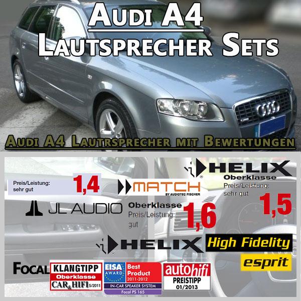Audi-A4-Lautsprecher-Sets