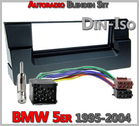 BMW 5er E39 Radioblenden Set 1995-2004 17 PIN