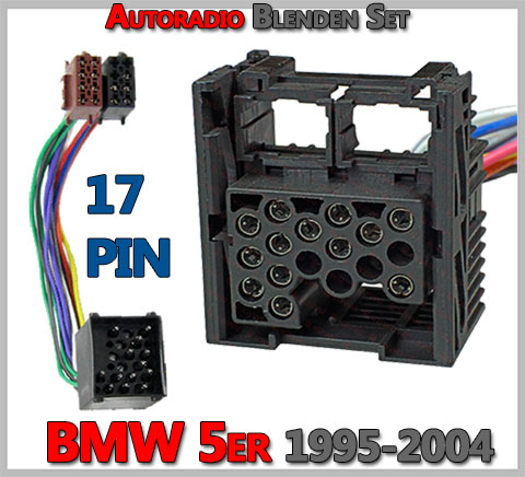 BMW-5er-Radioanschluss-17-PIN-Fahrzeugstecker