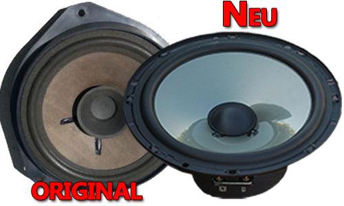 Beispiel Opel Corsa C Lautsprecher Original oder Neu JL Audio C2 650