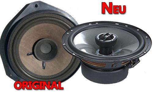 Beispiel Opel Corsa C Lautsprecher Original oder Neu JL-Audio