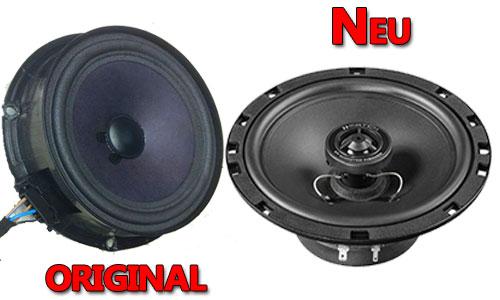 Beispiel VW Lautsprecher Original oder Match Neu