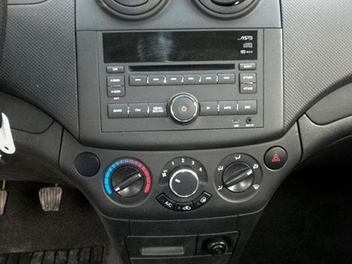 Chevrolet Aveo Radio 2009