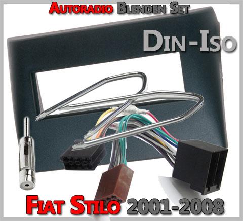 Fiat Stilo Radioblenden Set 2001-2008 1 DIN