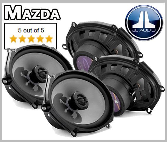 Mazda 3 Lautsprecher Set vordere und hintere Türen leichter Einbau