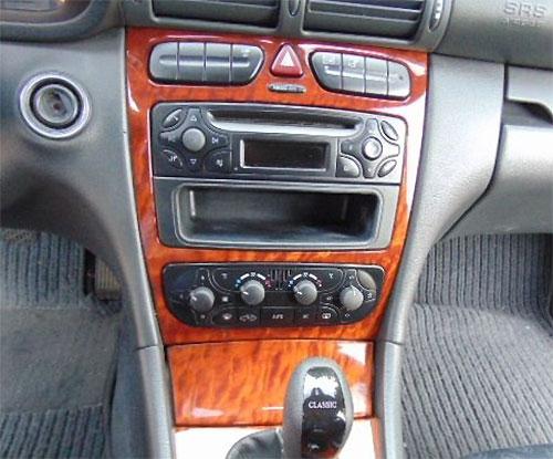 Mercedes C 200 Radio 2002