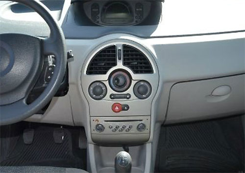 Renault Modus Radio 2005