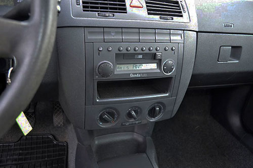 Skoda Fabia Grundig Radio