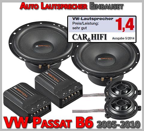 VW Passat B6 Lautsprecher Bewertung sehr gut vordere Türen