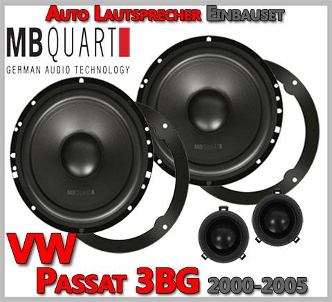VW Passat Variant 3BG Lautsprecher 2-Wege Hochtöner VW Design