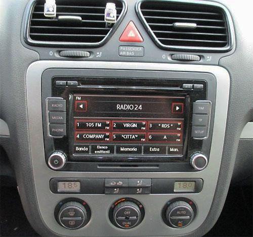 VW Scirocco III Radio 2011