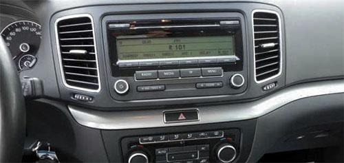 VW Sharan II Radio