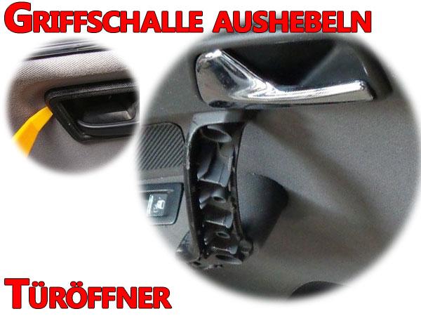 VW Touran Türöffner hinten ausbauen