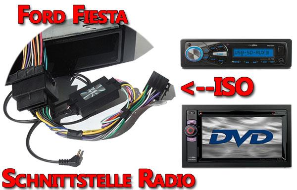 Ford Fiesta Lenkradadapter Verbindungskabel Radio