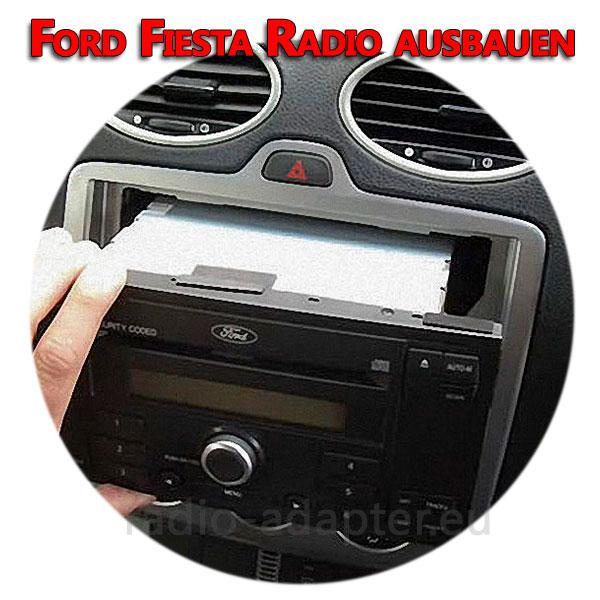 Ford Fiesta Radio ausbauen